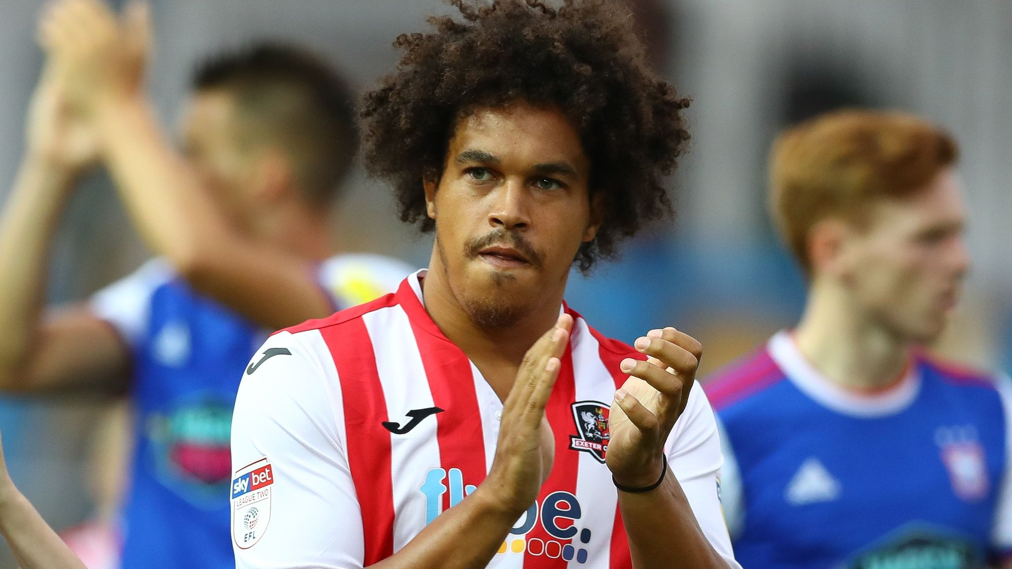 Troy Brown: Exeter City defender has knee surgery