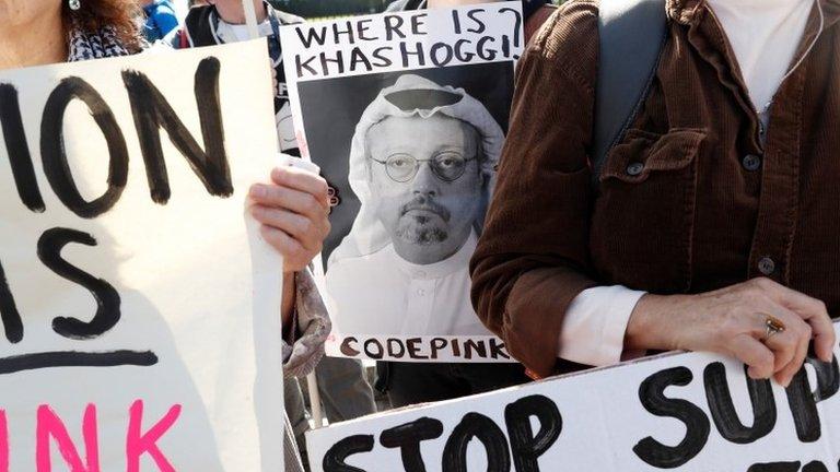 Khashoggi death: US meets Saudi crown prince despite criticism