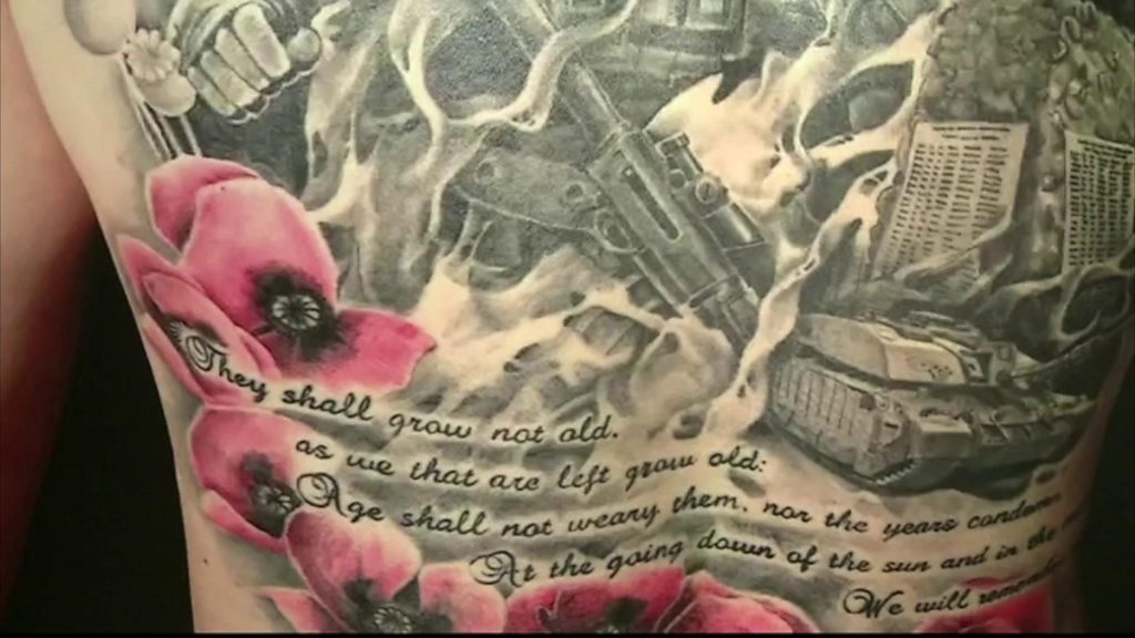MOD Lyneham explores the military tradition of tattoos