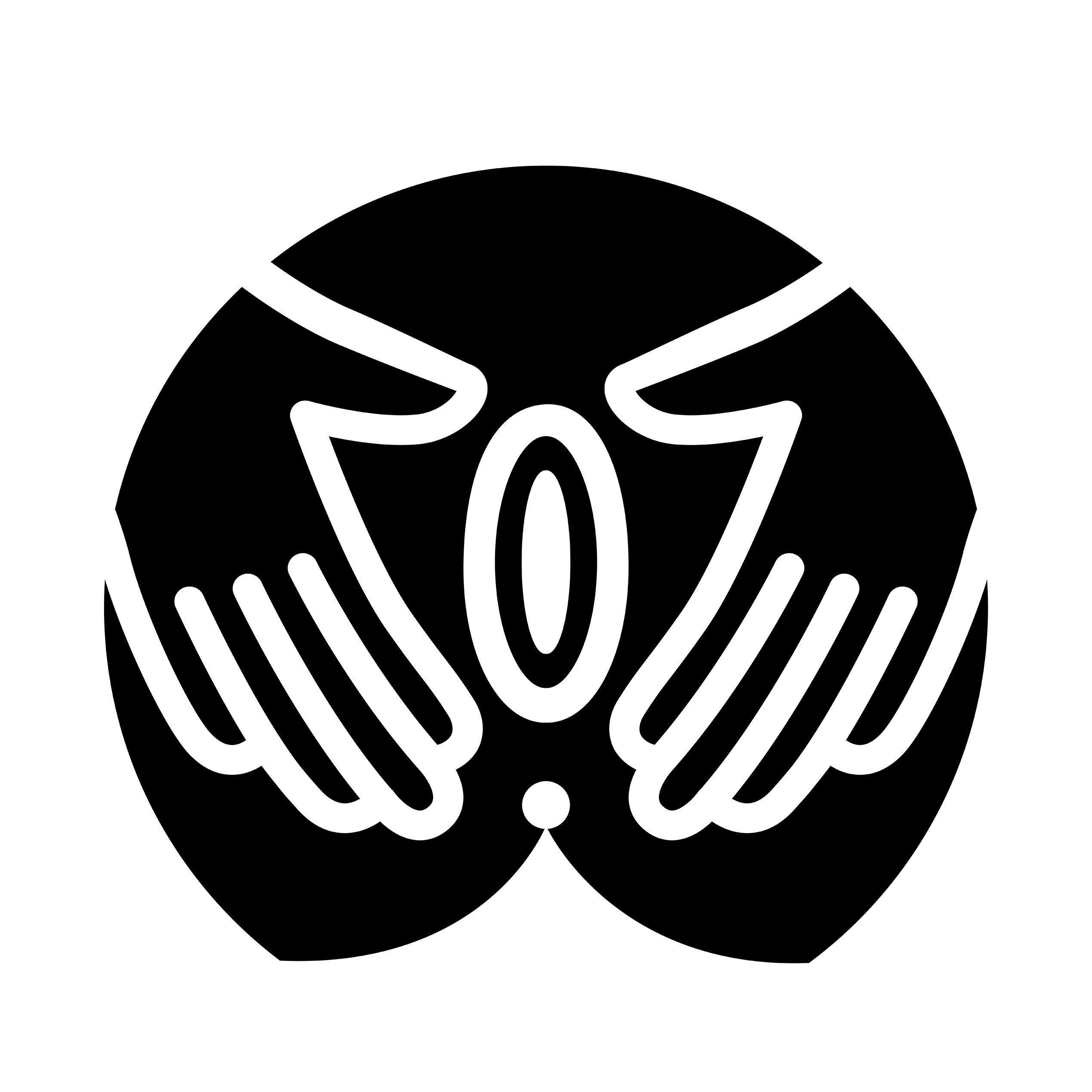 رسم توضيحي بالحبر الأسود لمهبل المرأة