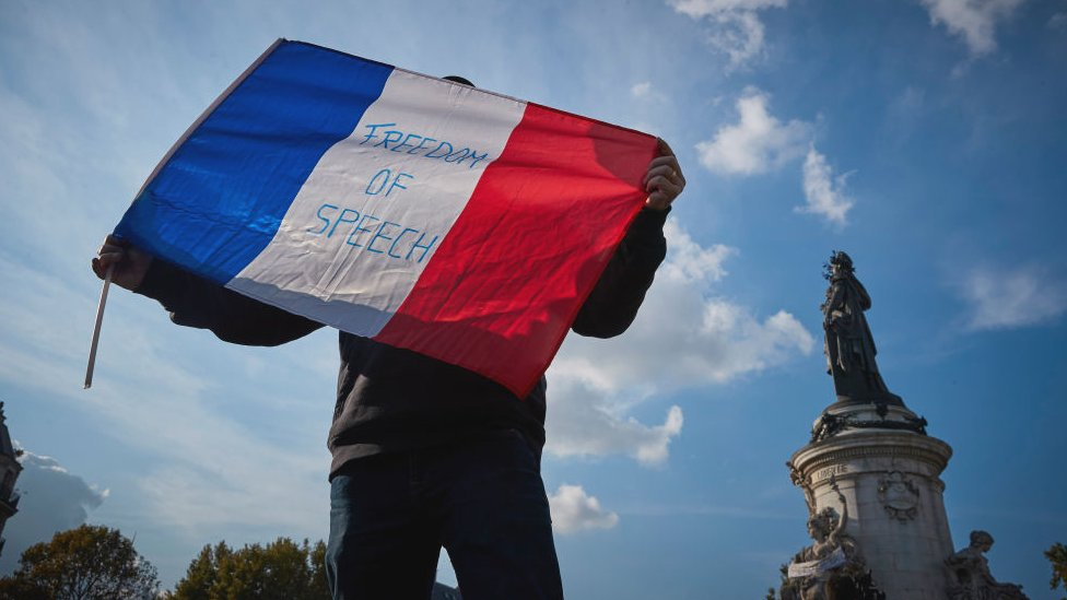 Samuel Paty: Beheading of teacher deepens divisions over France's secular identity thumbnail