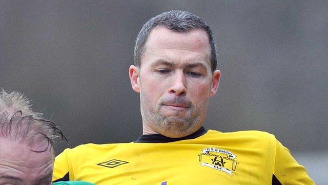 H&W Welders striker David Rainey