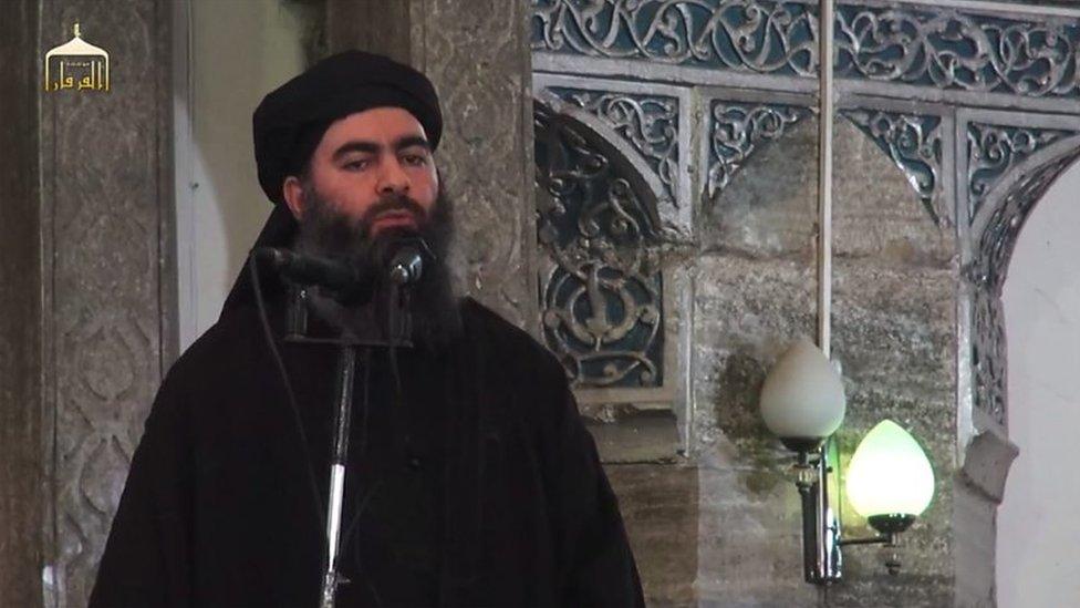 Bağdadi bu videodan önce son olarak Temmuz 2014'te Musul'da görülmüştü