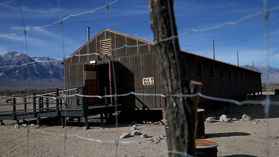 Campo de internamiento de Manzanar.