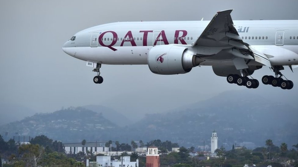 Qatari Planes Banned From Egyptian And Saudi Air Space Bbc News