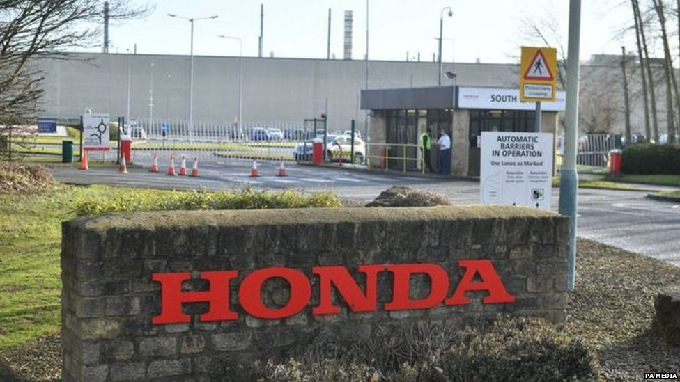 Honda site Swindon