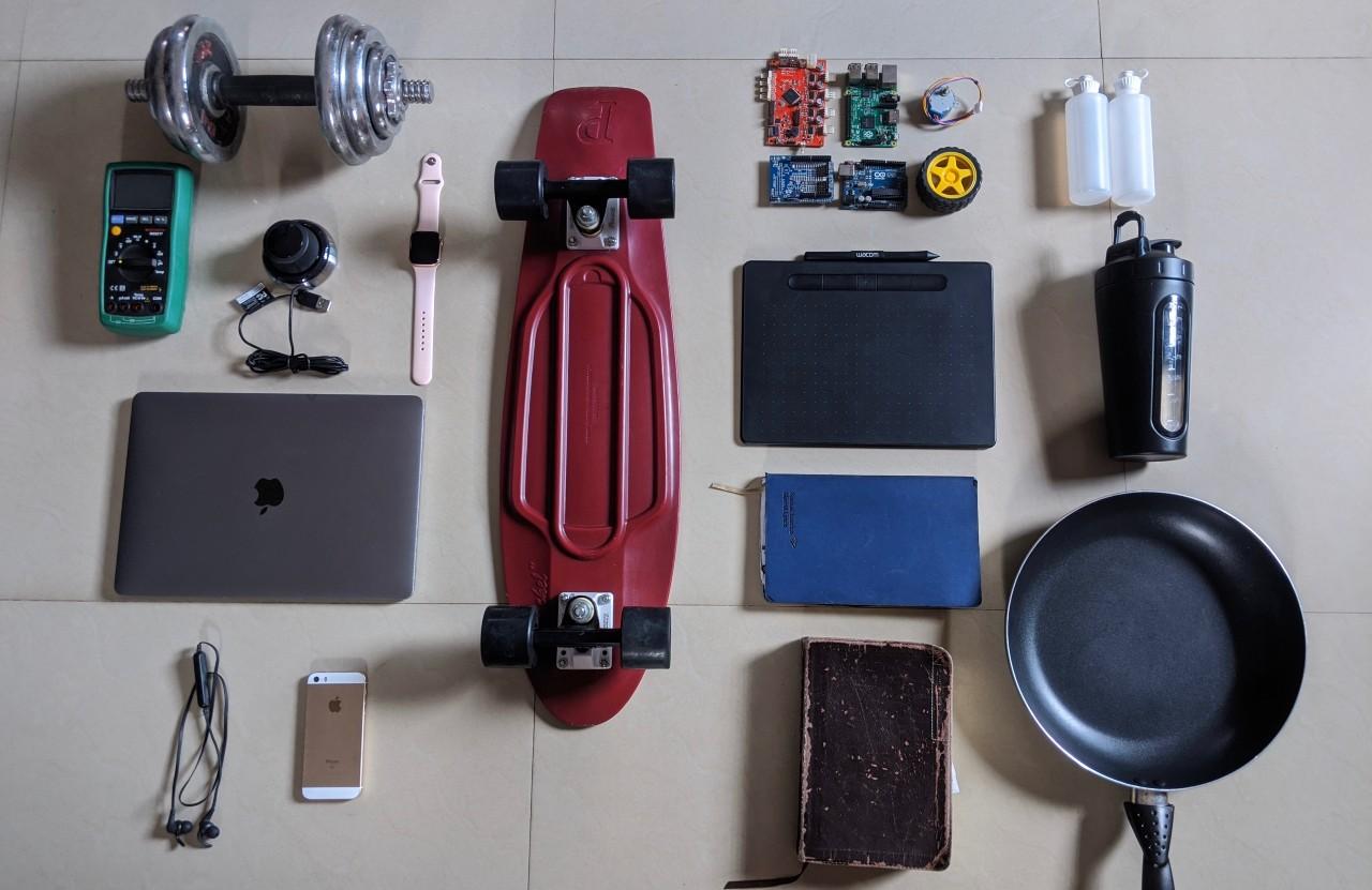 Lockdown essentials by Benedict Quartey, Ghana