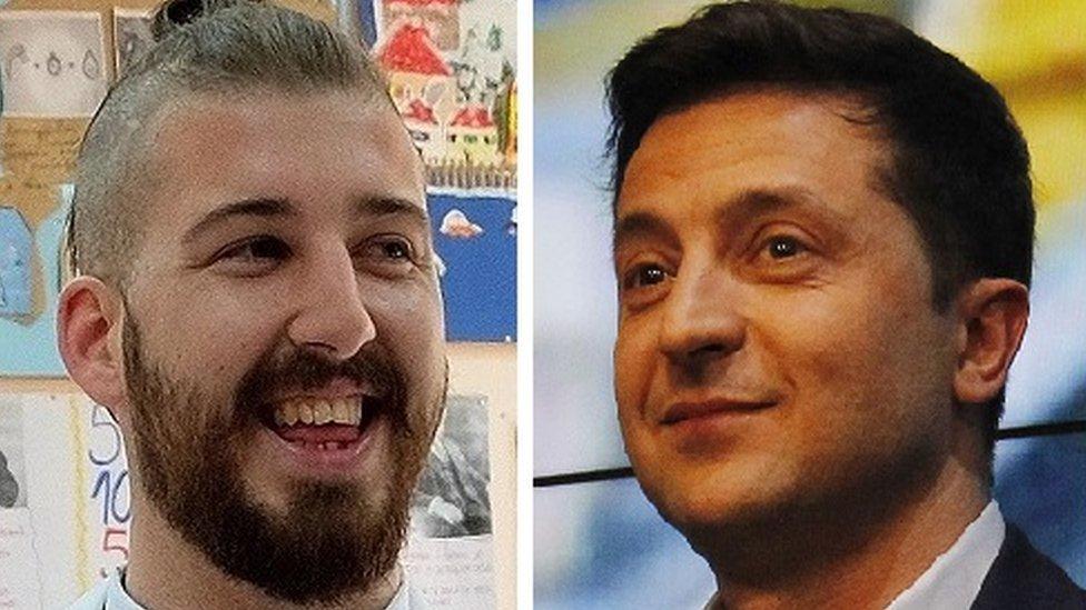 Luka Maksimović i Volodimir Zelenski