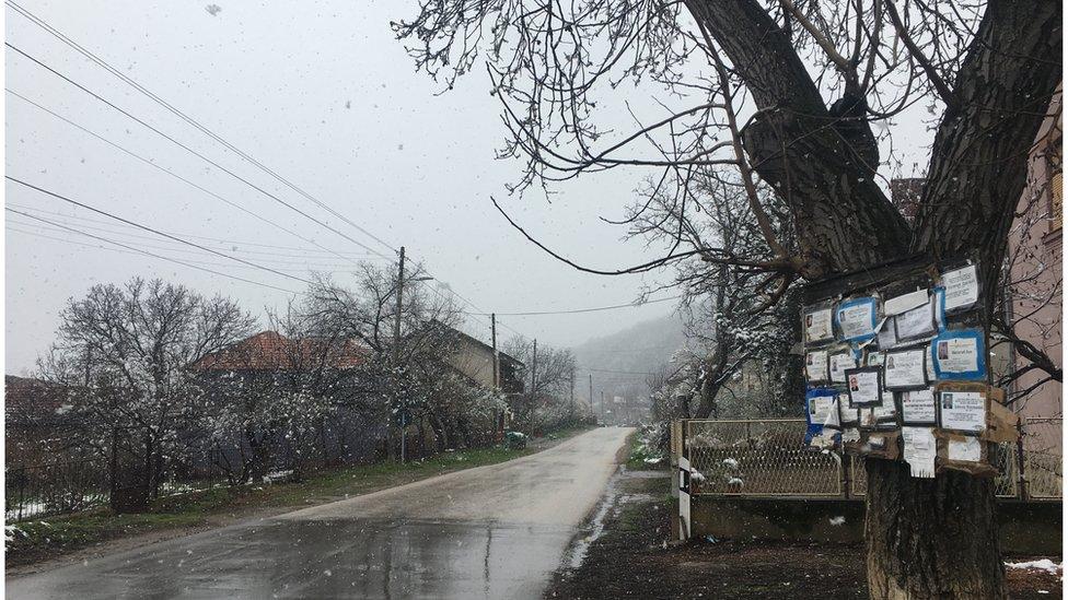 Centar sela Štipina, Knjaževac, mart 2020.