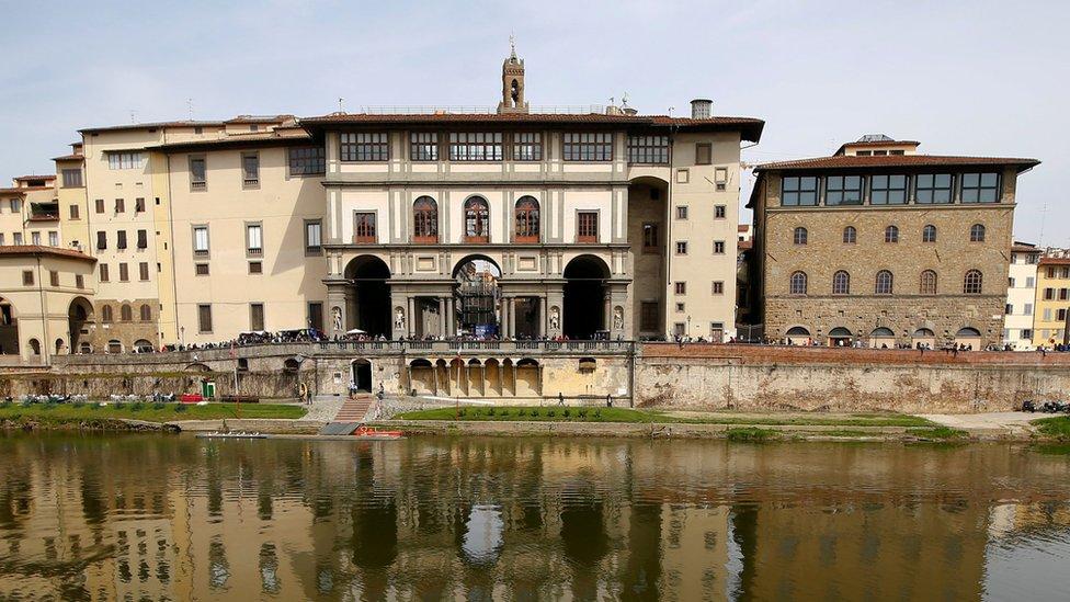 Florence's Uffizi Gallery