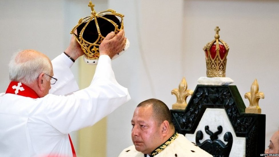 Tonga King Tupou VI formally crowned - BBC News