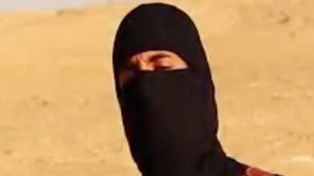 IS video of Mohamed Emwazi, so-called Jihadi John.