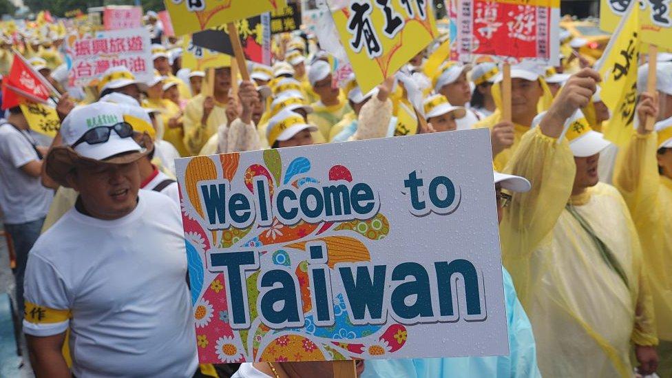 中國宣佈暫停赴台灣自由行,被視為是北京用來表達對蔡英文當局不滿的一系列強硬舉措中最新的一個。