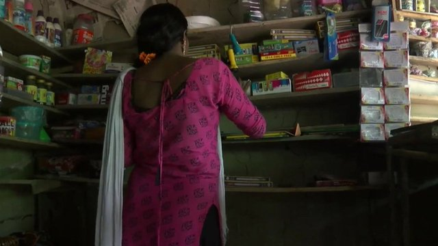 """""""Anisa"""", an Indian woman who was trafficked into sex slavery but managed to escape"""