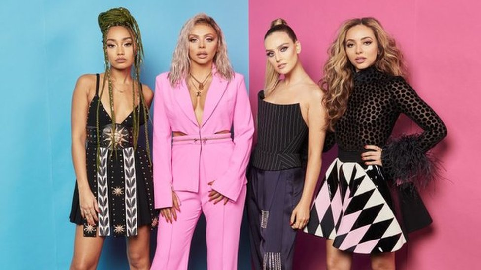 BBC News - Little Mix, Jay-Z and Demi Lovato are a typical part of our day jobs