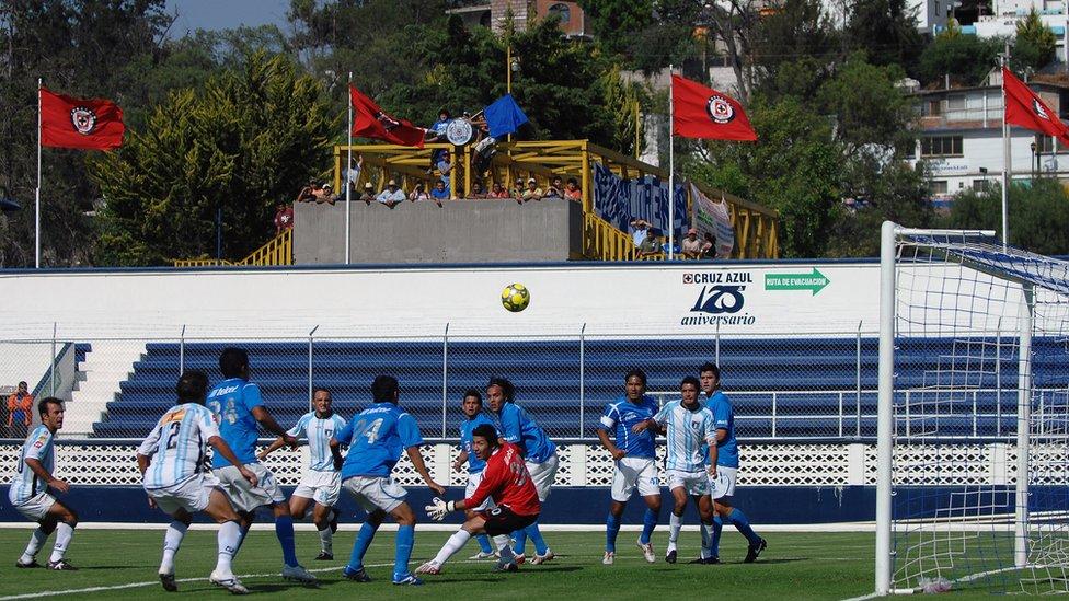 Juego de Cruz Azul Hidalgo en Jasso.