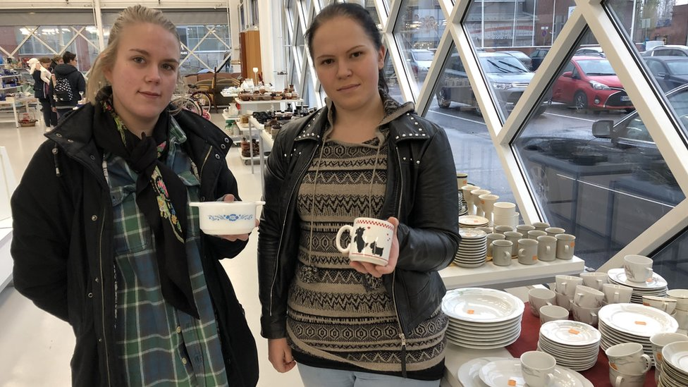 Hannamarie Johansson (left) and Pinja Lauria