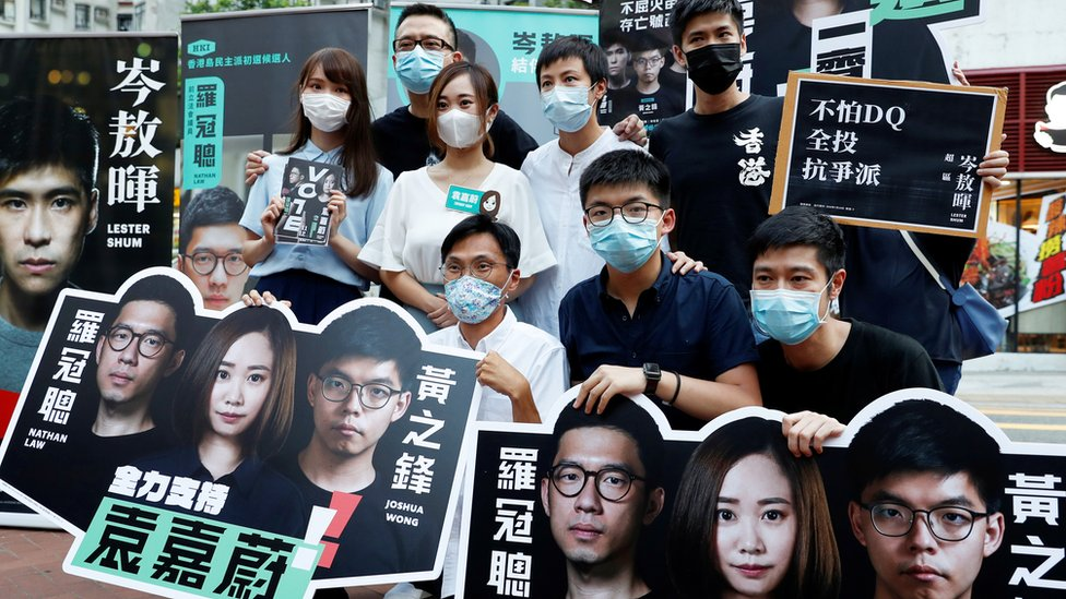 香港民主派去年七月舉行初選,以決定派出哪些人士參加原定去年九月舉行的立法會選舉。