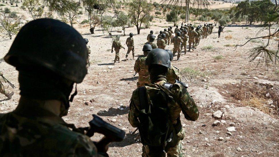قوات سورية حكومية