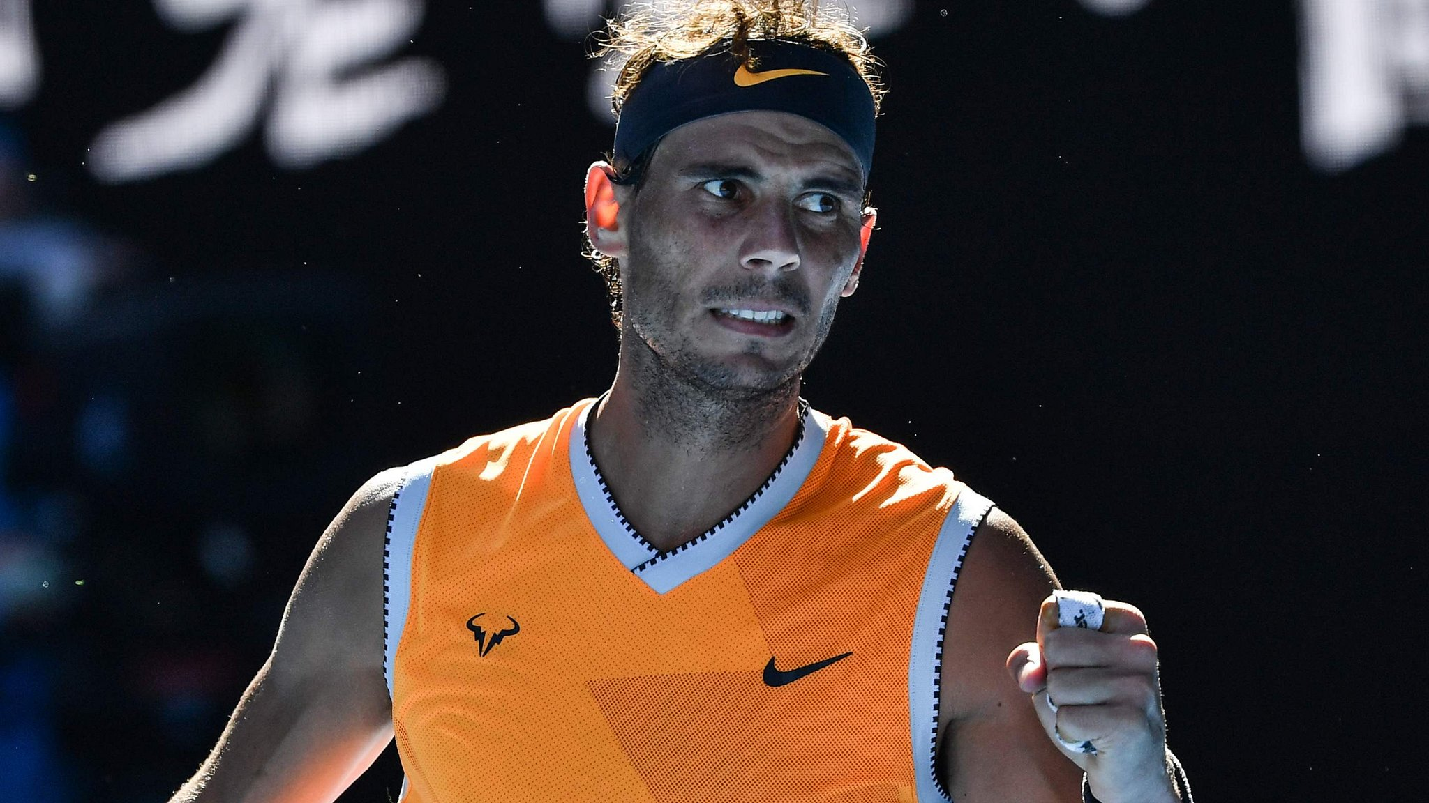 Nadal blasts past Berdych to reach last eight