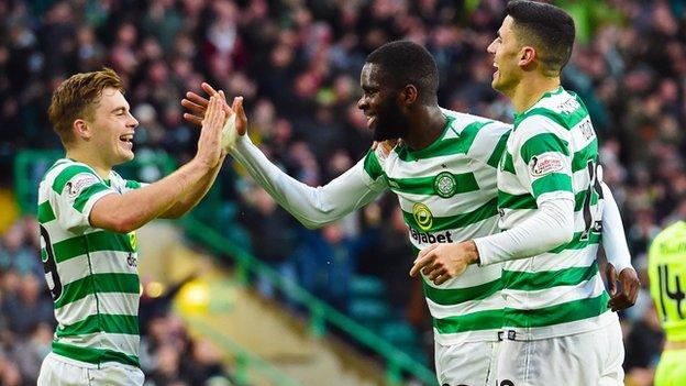 Celtic 4-2 Hibernian: Brendan Rodgers says club 'stood still' in summer