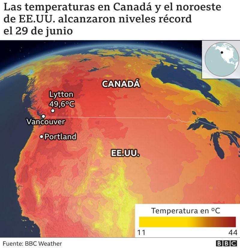 Mapa ola de calor