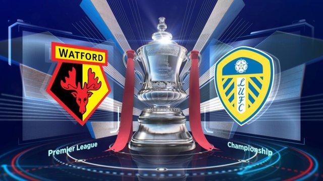FA Cup: Watford 1-0 Leeds highlights