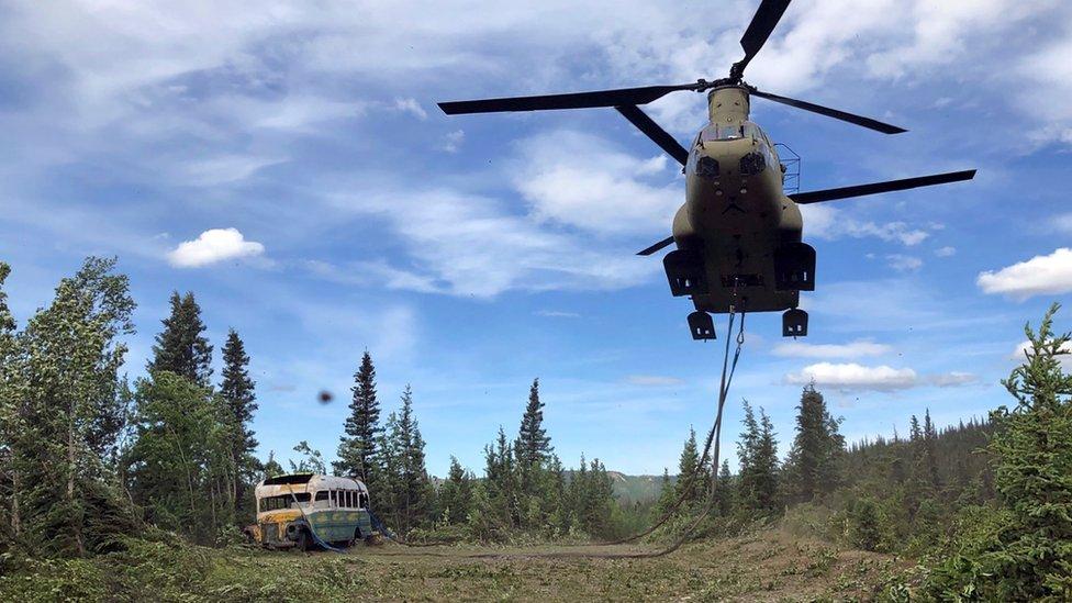 Autobus je prenela Vojska SAD