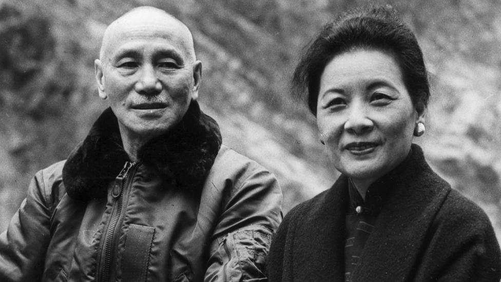 Chiang Kai-Shek y Soong Meiling