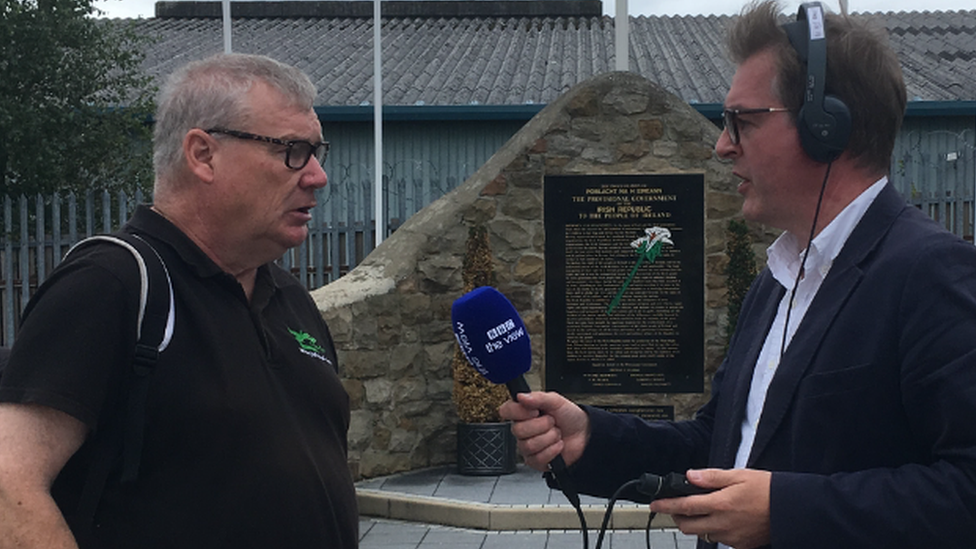 Mark interviews Peadar Whelan