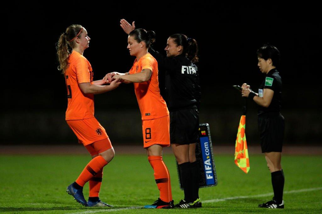 Jugadoras de la selección holandesa.