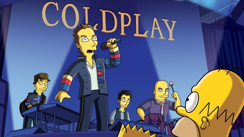 Kris Martin u Simpsonovima