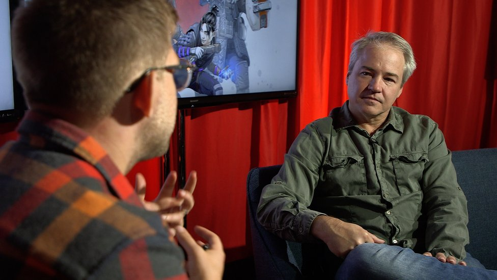 Direktor Rispon Entertejmenta Vins Zamela razgovarao je sa BBC novinarom Stefanom Pauleom na E3 konvenciji