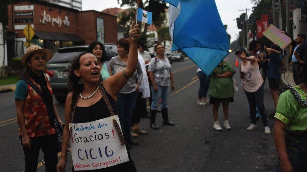 Protesta pro-Cicig