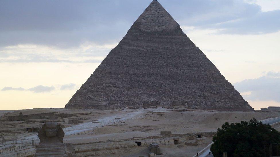 Mesir, piramida
