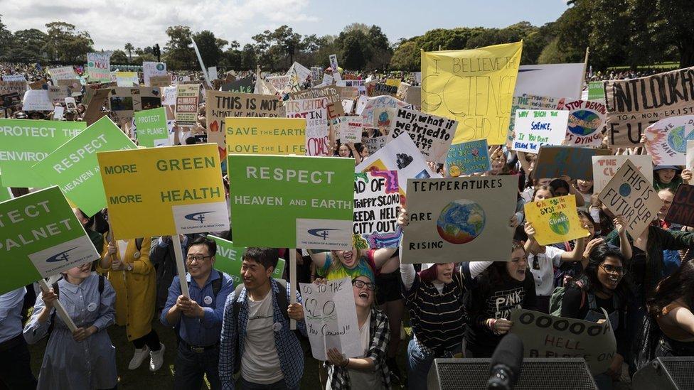 İklim değişikliği protestoları