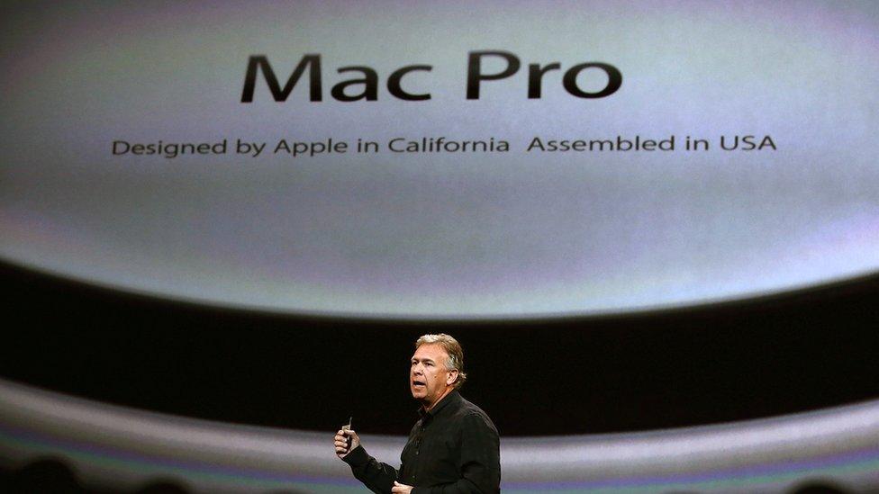 Lanzamiento del Mac pro en 2013.
