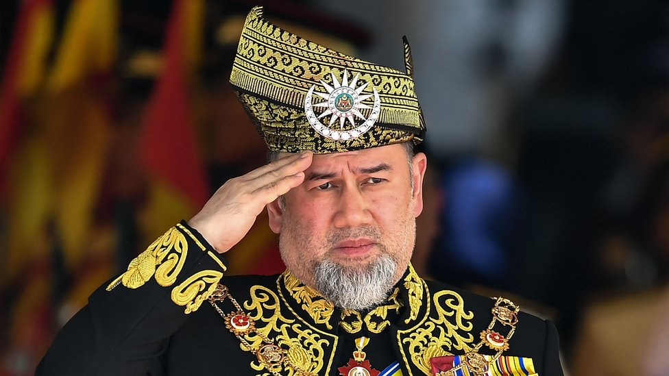 Malaysia king: Sultan Muhammad V abdicates in historic first - BBC News