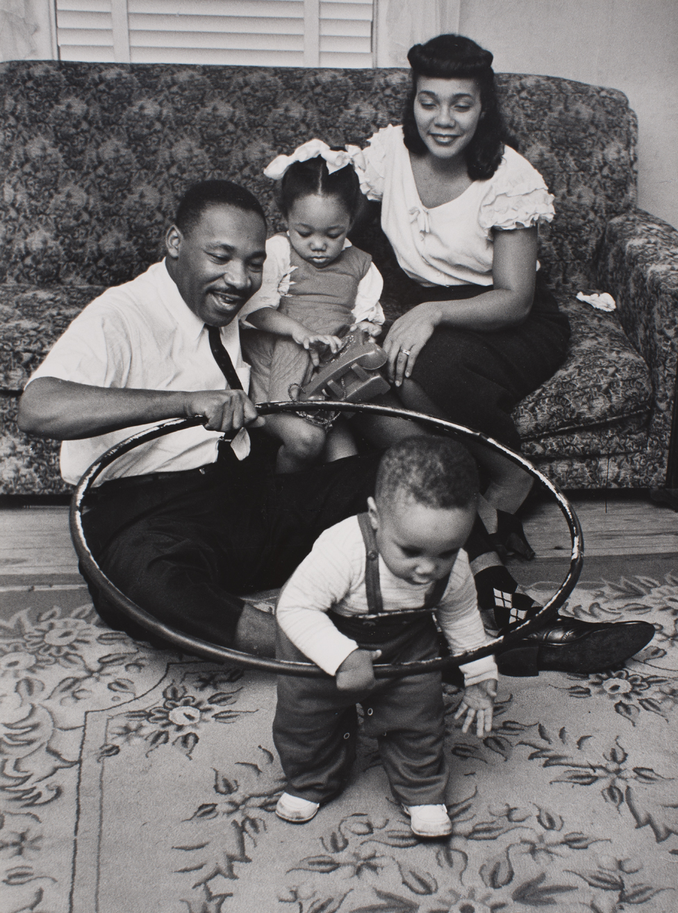 The King family at home - Montgomery, 1956