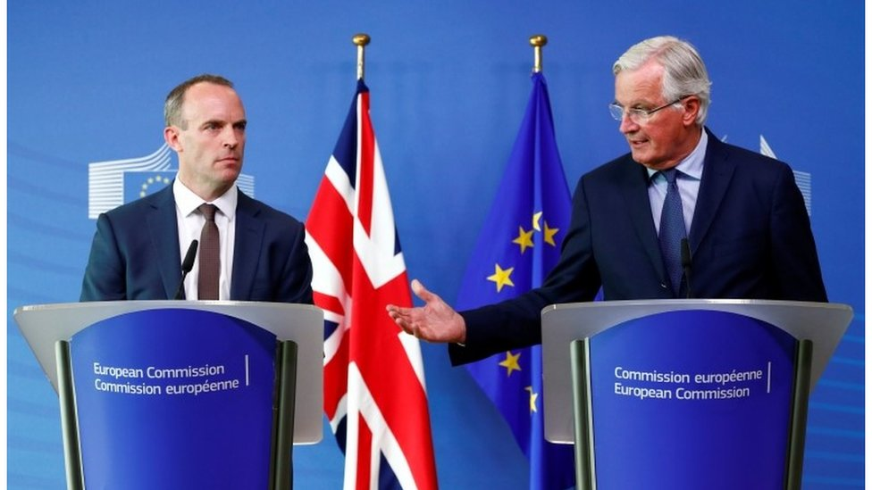 EU residents will be secure if no Brexit deal says Raab