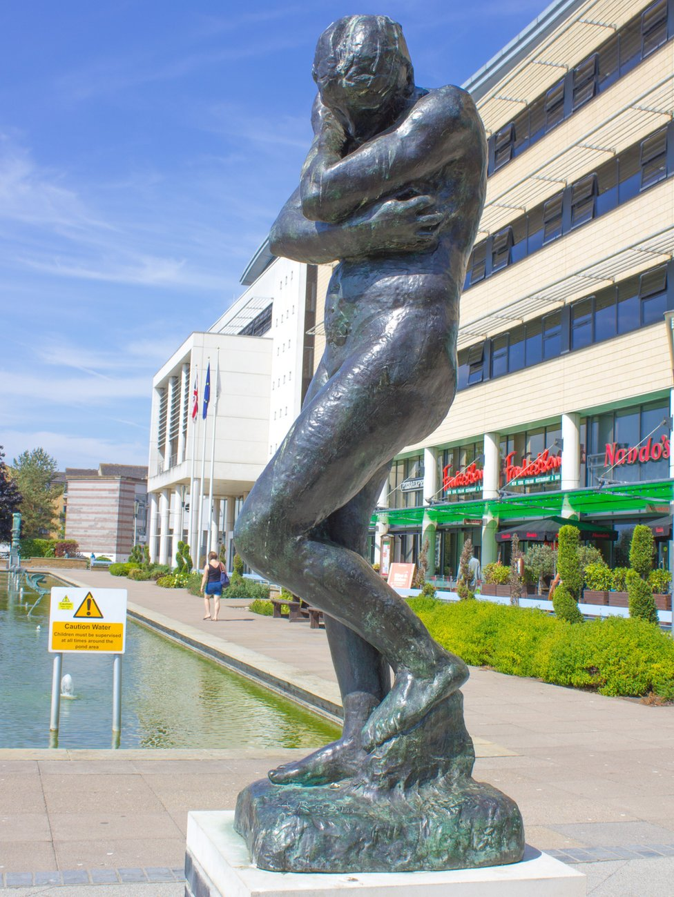 Rodin's Eve sculpture