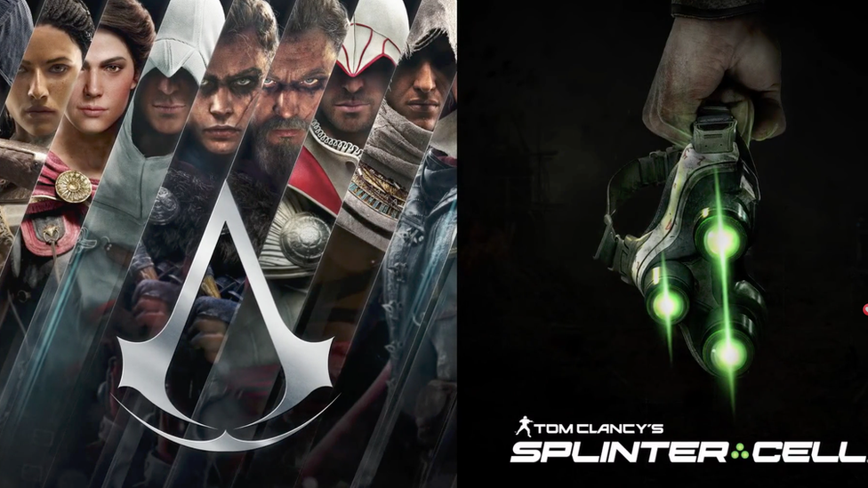Assassin's Creed and Splinter Cell