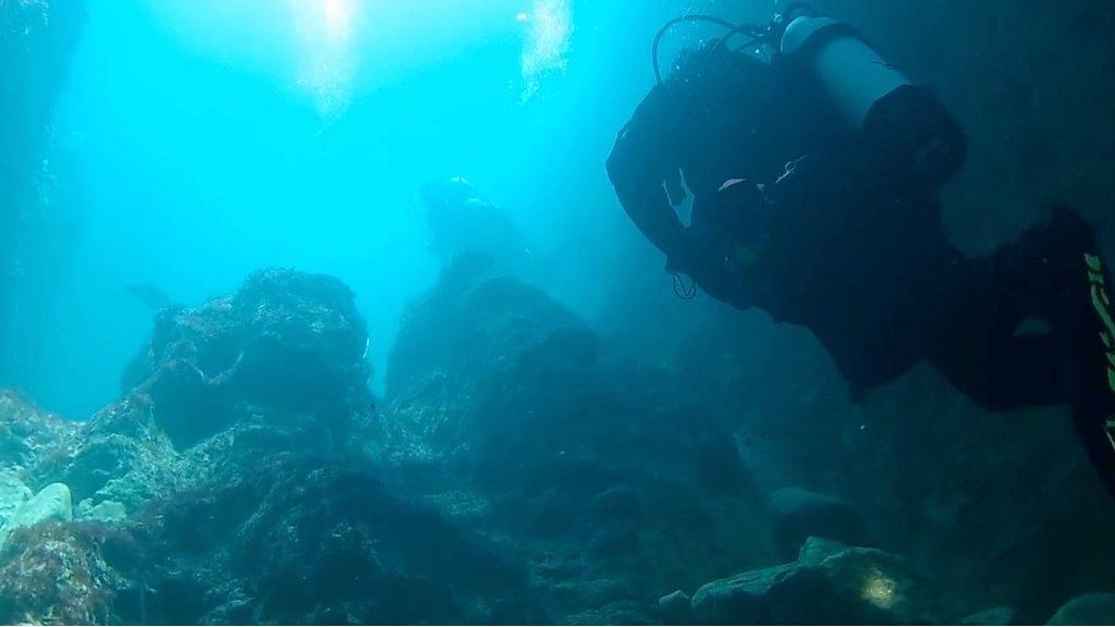 Durdle Door: Divers go below the surface off Dorset coast