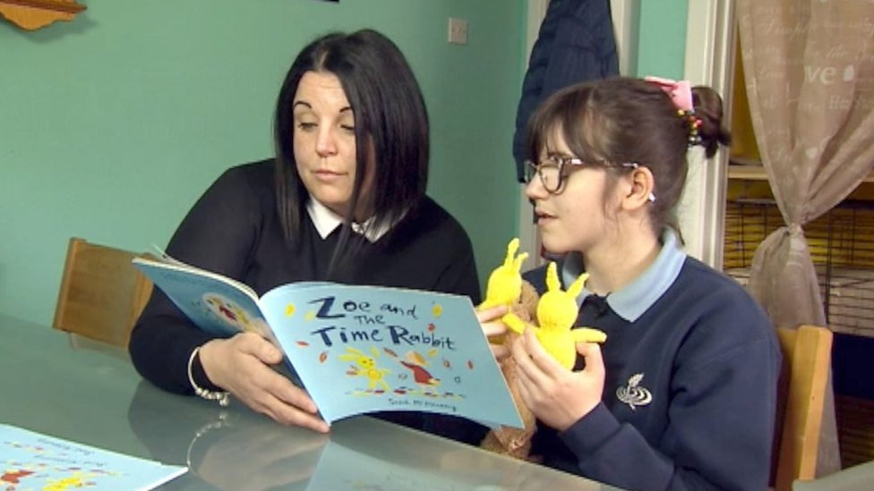 Time Rabbit book helps children with parents in navy