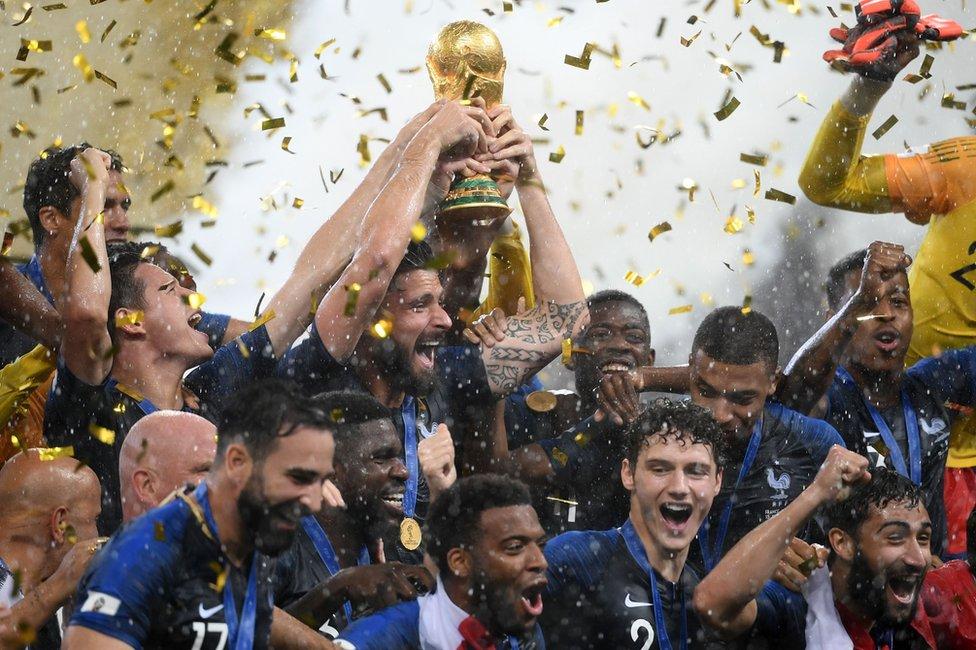 Francia celebra su segunda Copa del Mundo.