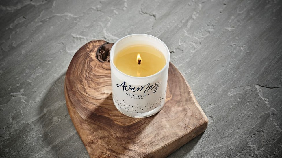 Ava May Aromas candle