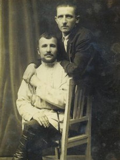 Members of the Petrograd gay community's 'simple class'