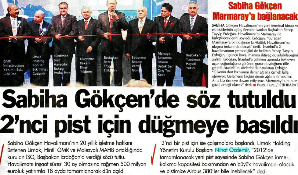 2009'da yayınlanan gazetelerde ikinci pistin 2011'de açılacağı yer alıyordu