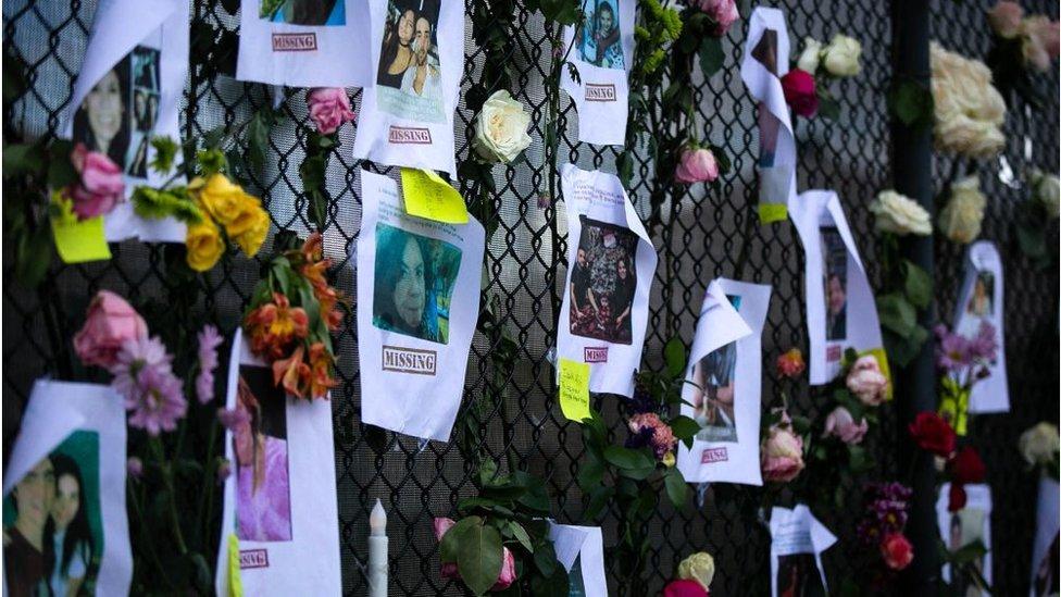 Fotos de desaparecidos del Champlain Towers South