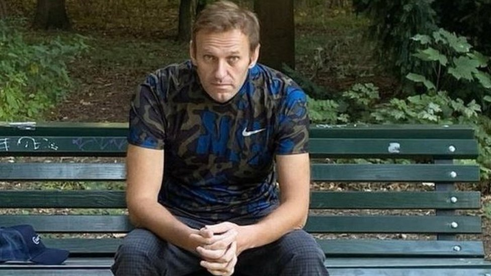 Russian opposition leader Alexey Navalny was poisoned through his underpants